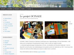 blog Collège JP Rameau